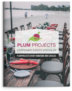 PlumProjects Events Furniture Hire Catalogue